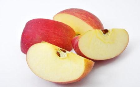 りんご 髪 効果
